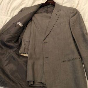 40R sharkskin Giorgio Armani suit